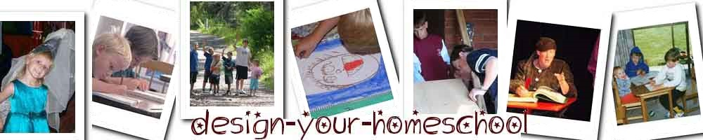 design your homeschool header image
