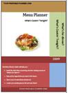 menu planner, meal planner