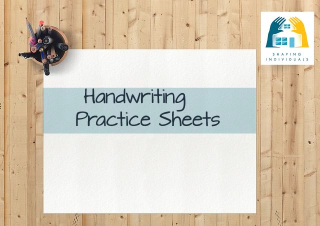 Handwriting Practice Work Sheets from www.design-your-homeschool.com