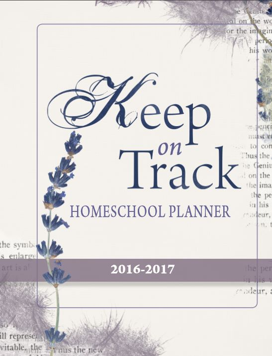 Homeschool Planner 2016-2017