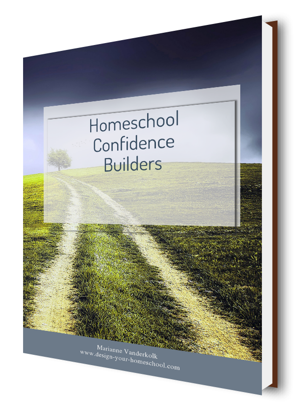 Homeschool Confidence Builders by www.design-your-homeschool.com  You can Homeschool!