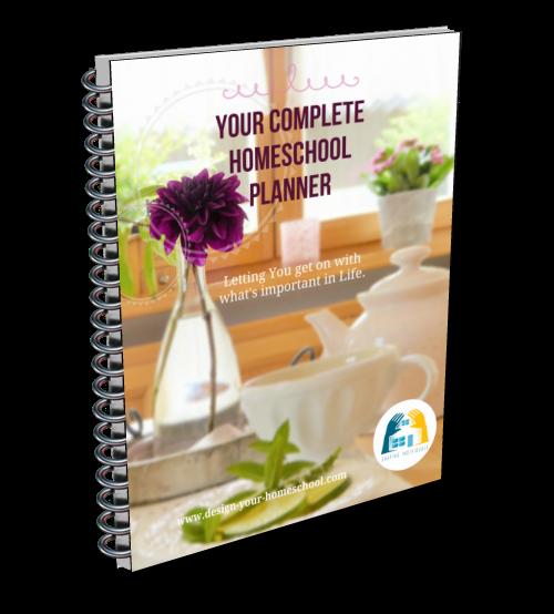Complete Homeschool Planner DIY 2018- 2019 Ebook - 300+ pages
