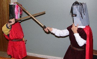 costumes and jousting
