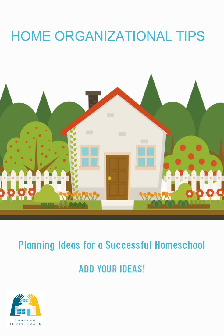 Home Organizational tips - for a successful homeschool