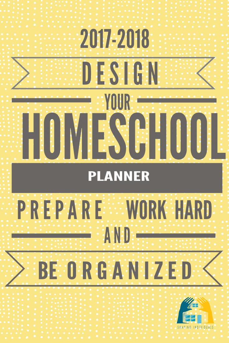 Complete Homeschool Planner 2017-2018 Edition - Get Organized!