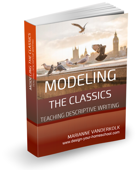 Teaching Descriptive Writing Ebook - through modeling the classic authors.