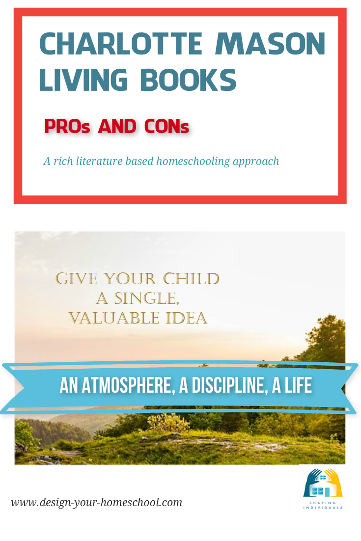 Charlotte Mason Living Books Homeschool Approach