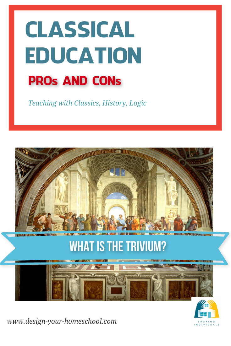 Classical home schooling approach - pros and cons