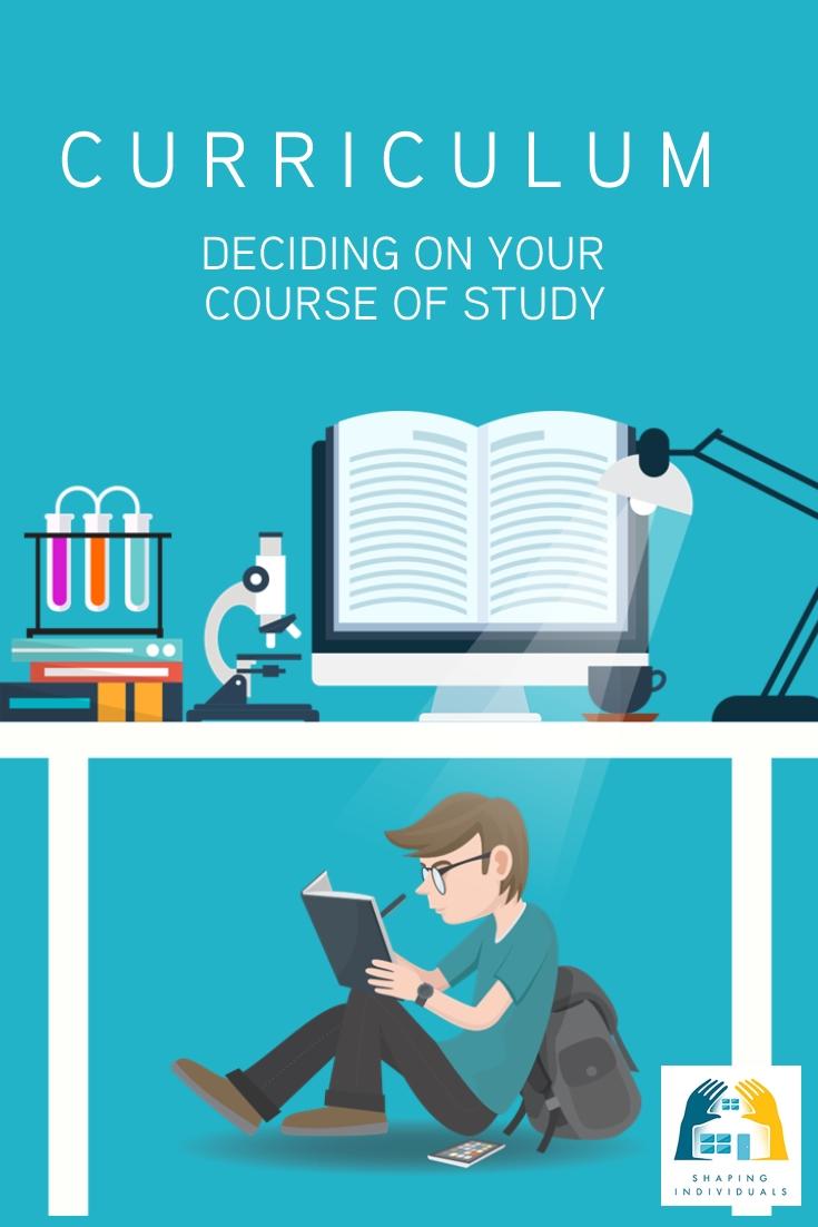 Home school curriculum planning
