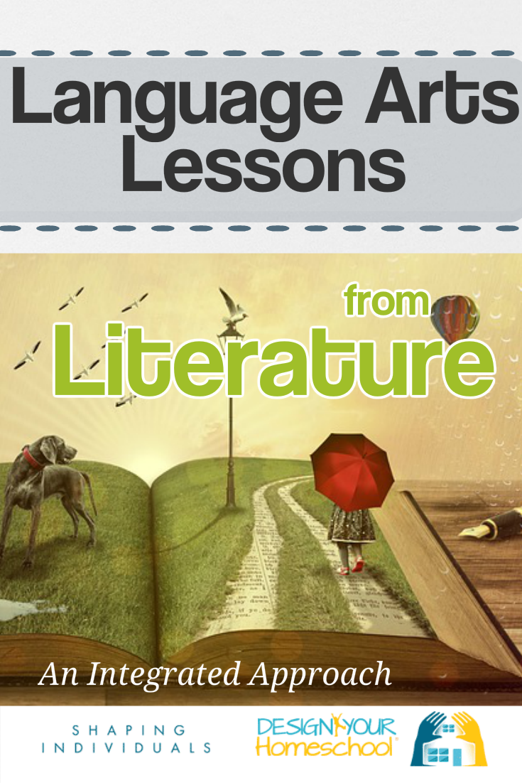 Language Arts Lesson plans with literature for homeschool