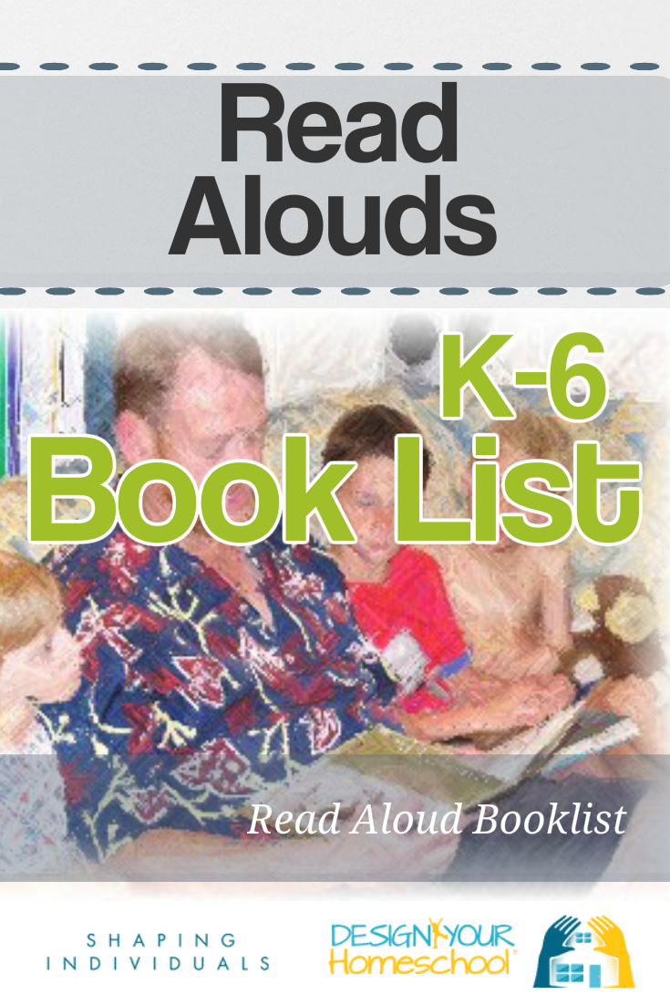 Homeschool Read Alouds Booklist - plus other literature lists