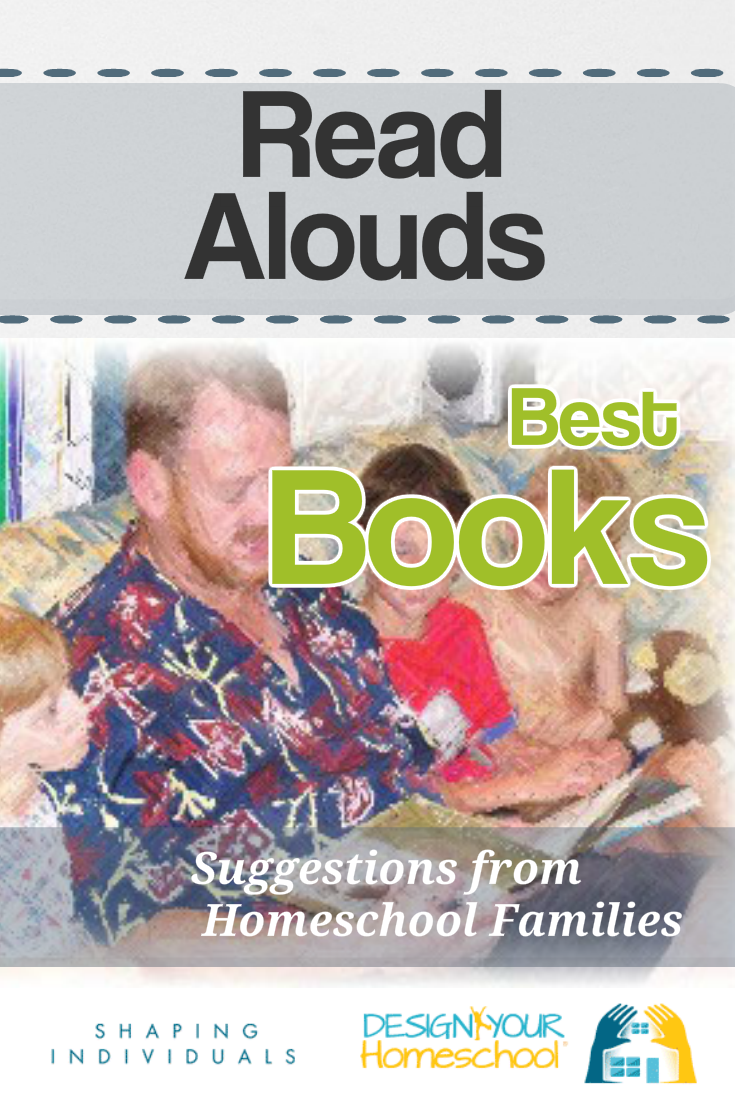 Recommended homeschool read aloud list suggested by homeschool families