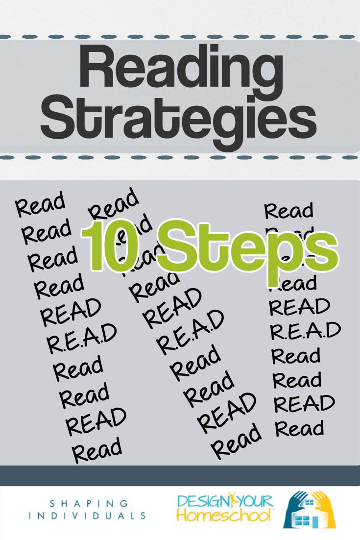 Top 10 Homeschool Reading Strategies to develop lifelong readers