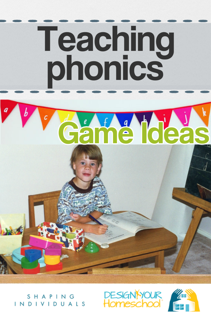 Teaching phonics in your homeschool