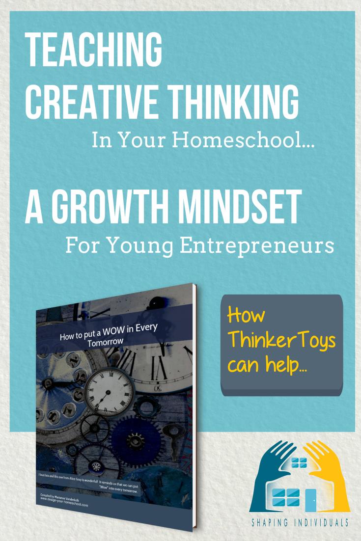 Teaching Creative Thinking in your homeschool