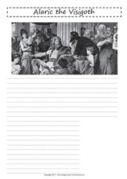 free notebooking pages - middle ages