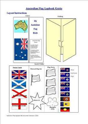 Australia Flag Lapbook