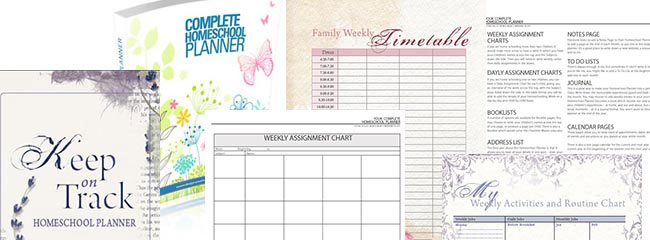 Homeschool Planner Options - DIY or Keep on Track