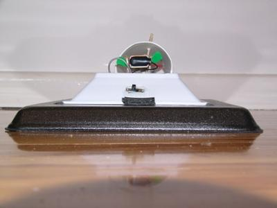 My hovercraft - front view