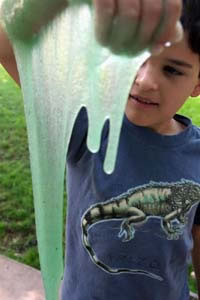 Cool science experiments slime