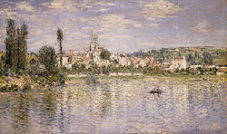 vetheuil in summer, Monet