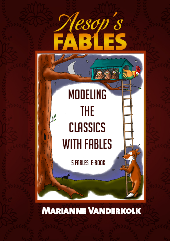 Modeling the Classics with Aesop's Fables