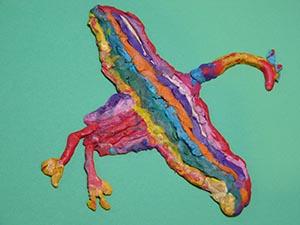 modeling with plasticene homeschool art