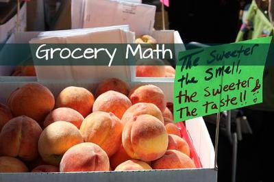 Choosing groceries - making math decisions