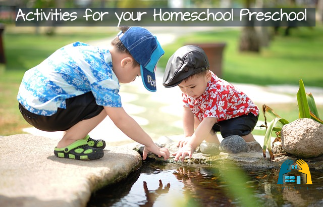 Homeschool Preschool - Ideas to be actively involved with your littlies without feeling overwhelmed. www.design-your-homeschool.com