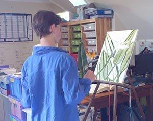 joels oil painting