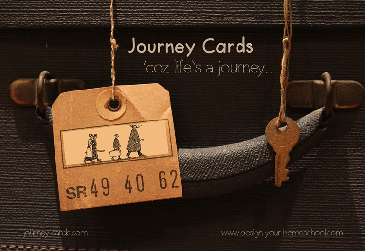 Journey Cards - Your special delivery of Encouragment - from www.design-your-homeschool.com
