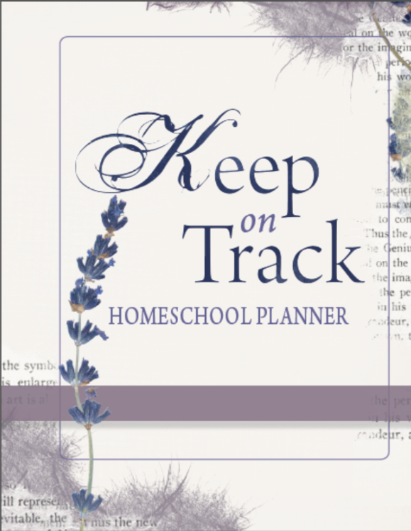 Keep on Track Homeschool Planner