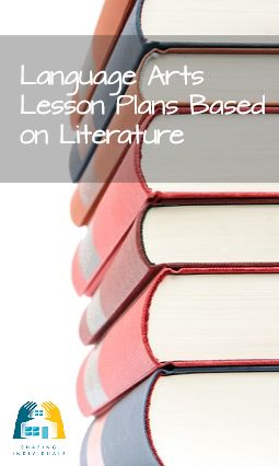 Language arts lesson plans based on literature
