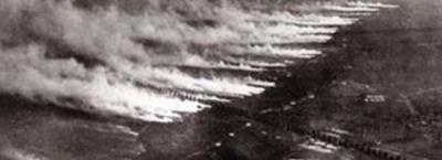 German Chlorine gas attack
