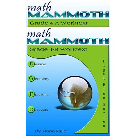 Math Mammoth Year 4 Curriculum