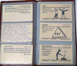 memorization book for bible verses