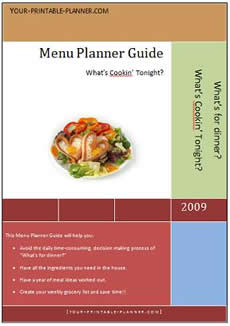 Menu Planner Guide