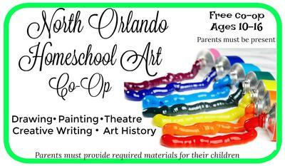 North Orlando Homeschool Art Co-Op