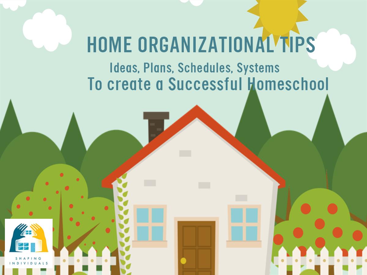 Home Organizational Tips - life hacks to help your homeschool be organized.