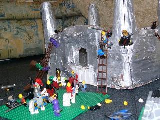paper mache castle