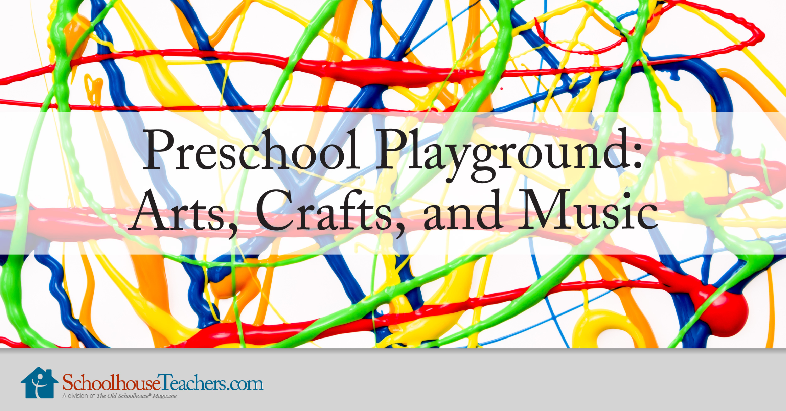 Preschool Art and Crafts Courses