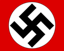 The Emblem of the Nazi party: the Swastika.