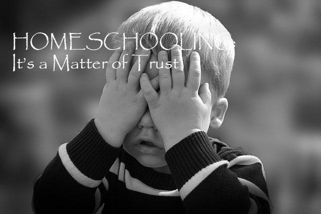 Homeschooling - a matter of trust