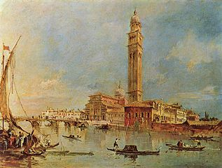 Francesco Guardi Paintings of Venice