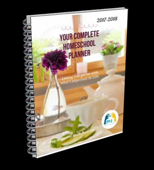 Complete Homeschool Planner DIY 2017-2018 Ebook - 300+ pages