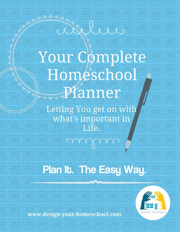 Complete Homeschool Planner from www.design-your-homeschool.com for 2018-2019