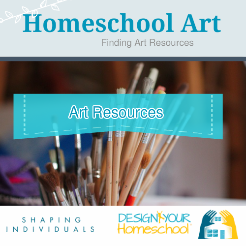 Homeschool Art Resources - what to buy