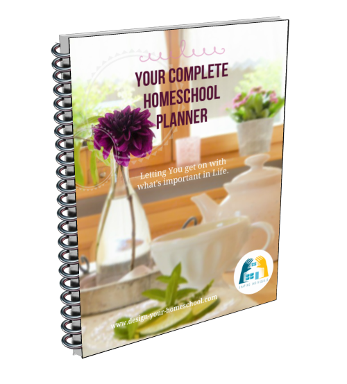 Complete Homeschool Planner DIY 2018- 2019 Ebook - 300+ pages