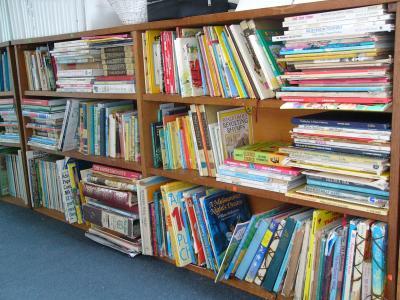 Bookshelves as a booklist for each child