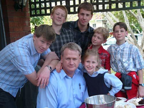 homeschooling family